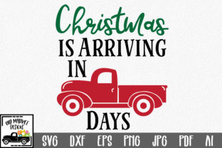 Christmas Countdown Cut File Christmas Truck Graphic By Oldmarketdesigns Creative Fabrica