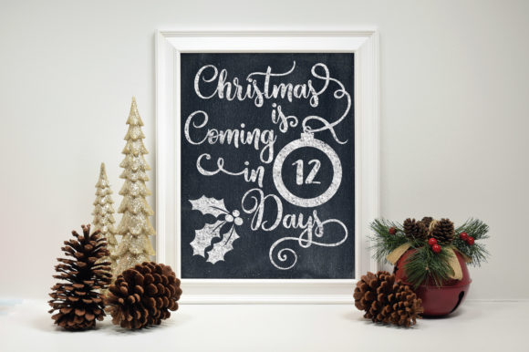 Download Free Christmas Countdown Graphic By Oldmarketdesigns Creative Fabrica SVG Cut Files