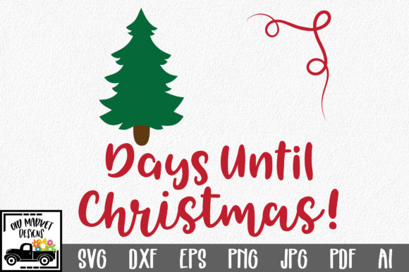 Christmas Count Down.Christmas Countdown Svg