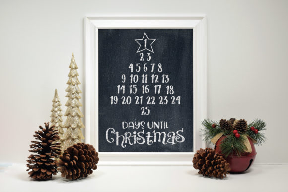Print on Demand: Christmas Countdown Graphic Crafts By oldmarketdesigns - Image 2