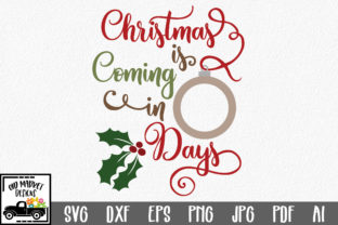 Christmas Countdown SVG Graphic By oldmarketdesigns