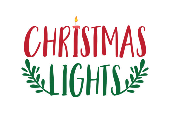 Download Free Christmas Lights Graphic By Thelucky Creative Fabrica for Cricut Explore, Silhouette and other cutting machines.