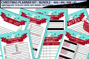 Christmas Planner SVG Graphic By Arcs Multidesigns