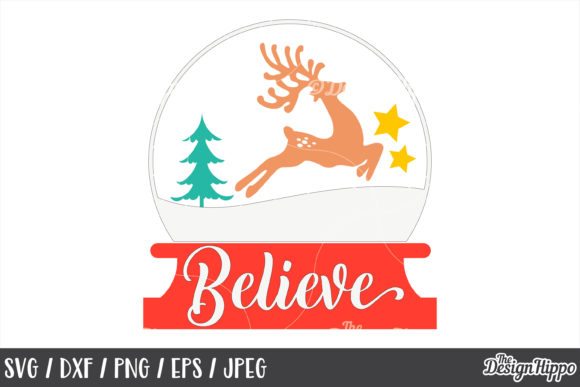 Download Free Christmas Reindeer Bundle Graphic By Thedesignhippo Creative SVG Cut Files