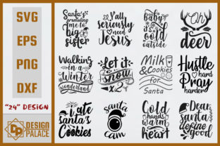 Christmas SVG Bundle Graphic By Design Palace