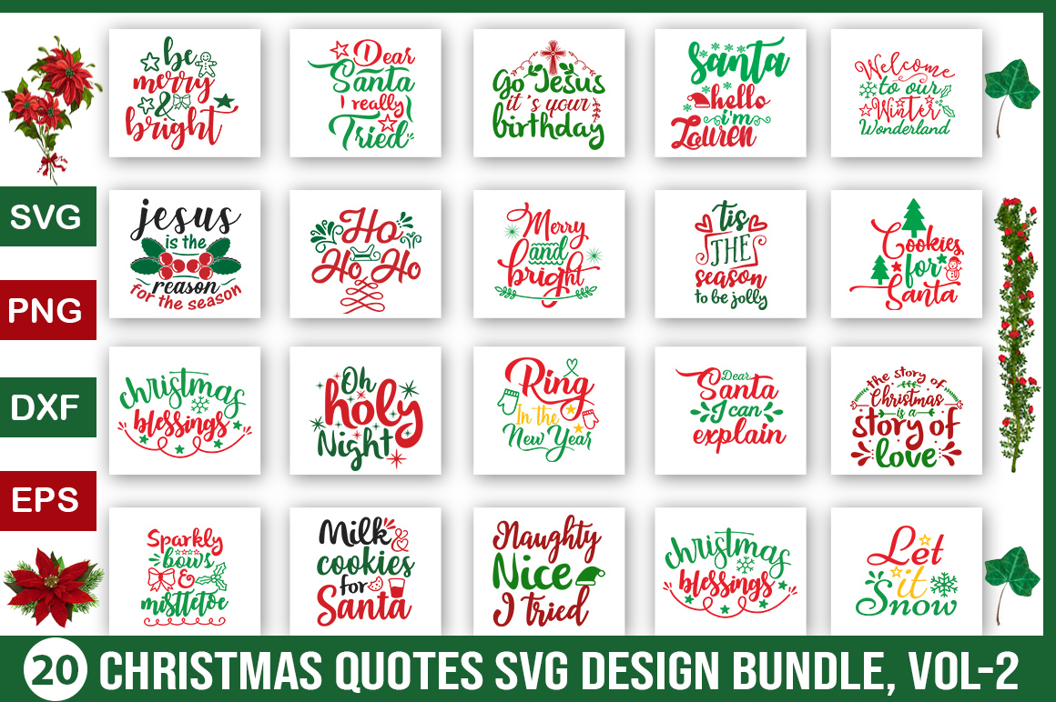 Download Free Christmas Svg Bundle Grafik Von Design Palace Creative Fabrica for Cricut Explore, Silhouette and other cutting machines.