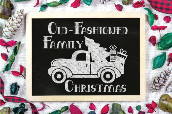 Print on Demand: Christmas - Family Christmas Graphic Crafts By oldmarketdesigns - Image 3
