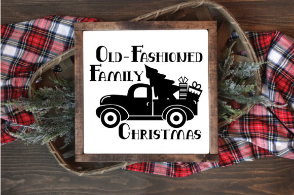 Print on Demand: Christmas - Family Christmas Graphic Crafts By oldmarketdesigns - Image 4