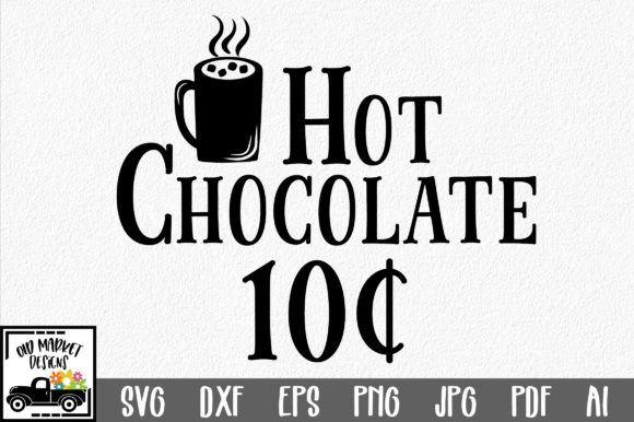 Download Free Christmas Hot Chocolate Graphic By Oldmarketdesigns Creative Fabrica for Cricut Explore, Silhouette and other cutting machines.