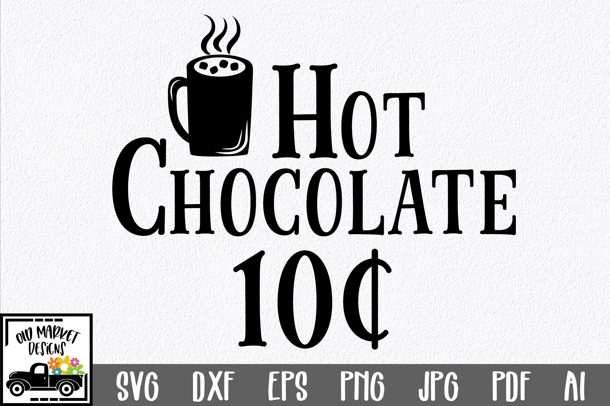 Download Free Christmas Hot Chocolate Graphic By Oldmarketdesigns Creative for Cricut Explore, Silhouette and other cutting machines.