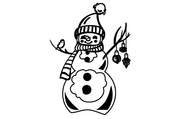 Download Free Christmas Snowman 3 Svg Cut File By Creative Fabrica Crafts for Cricut Explore, Silhouette and other cutting machines.