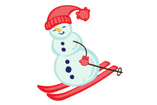 Christmas Snowman Christmas Craft Cut File By Creative Fabrica Crafts