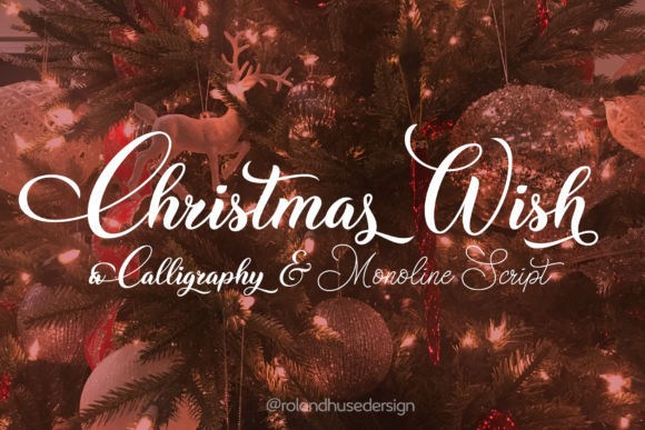 Christmas Wish Script & Handwritten Font By Roland Hüse
