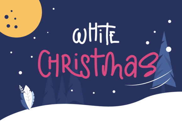 Print on Demand: Christmas Display Font By Revnede std