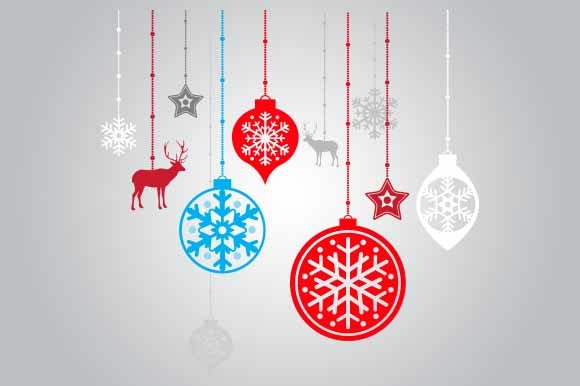 Download Free Christmas Decorations Graphic By Goldenflower Creative Fabrica for Cricut Explore, Silhouette and other cutting machines.