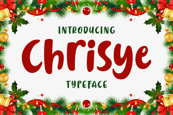 Print on Demand: Chrisye Script & Handwritten Font By Keithzo (7NTypes) - Image 1