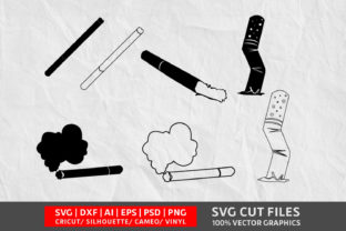 Cigarettes SVG Graphic By Design Palace