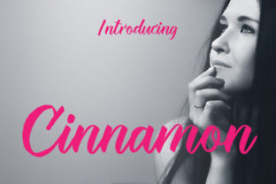 Cinnamon Font By da_only_aan