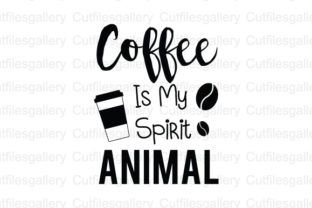 Download Free Coffee Is My Spirit Animal Coffee Quote Svg Graphic By for Cricut Explore, Silhouette and other cutting machines.