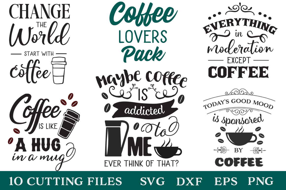 Coffee Lovers Bundle Graphic By Svg Addict Shop