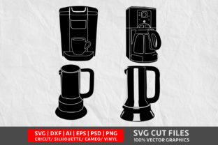 Coffee Maker SVG Graphic By Design Palace