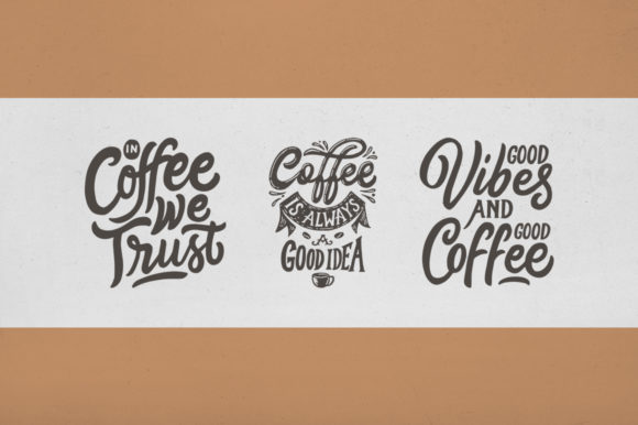 Coffee Quotes Bundle Graphic Crafts By Weape Design - Image 4