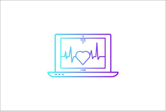 Print on Demand: Computer Health Graphic Icons By khld939