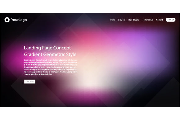 Concepts of Header Web Design Graphic Websites By MrBrahmana