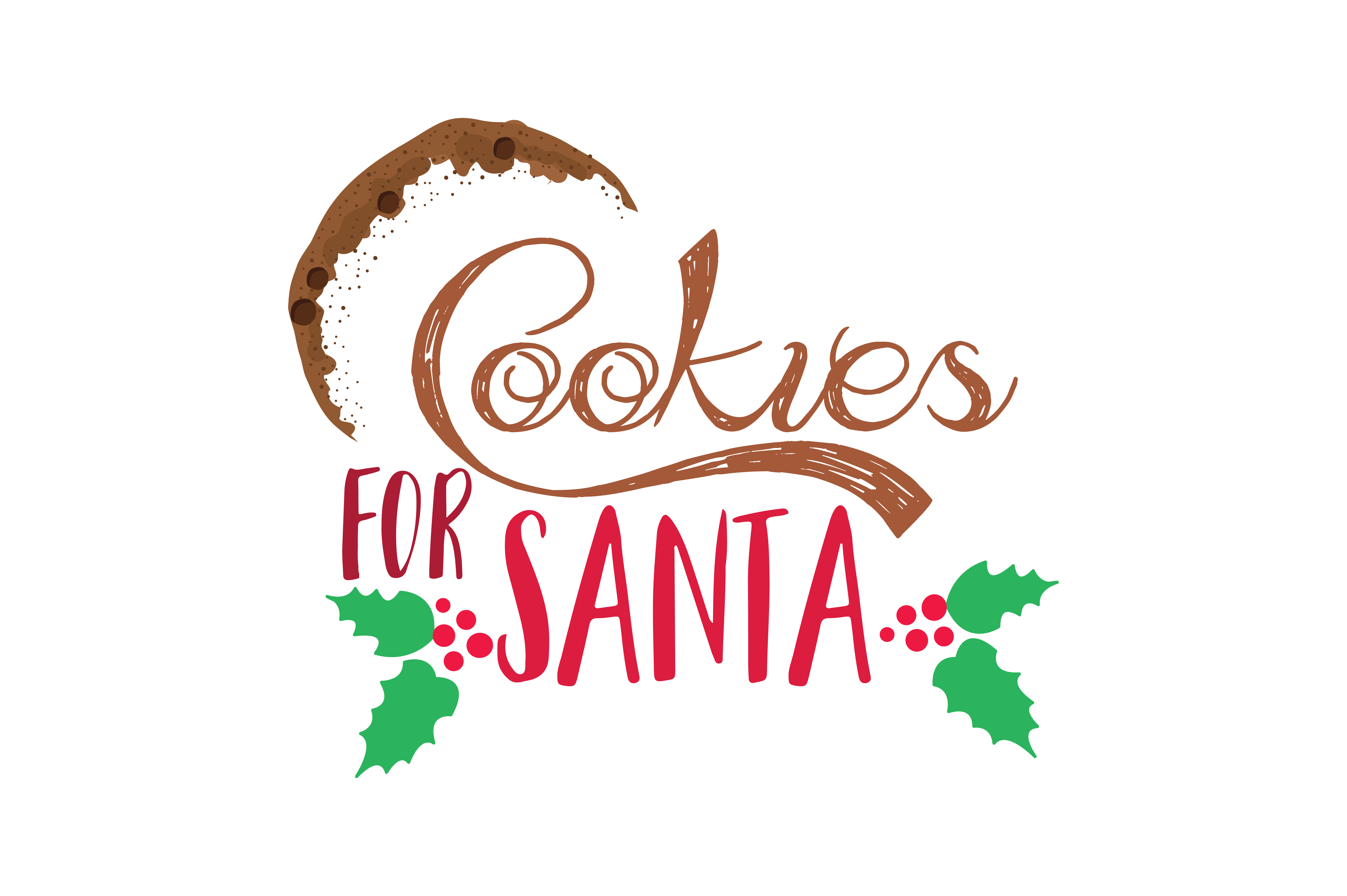 Download Free Cookies For Santa Svg Cut Grafik Von Thelucky Creative Fabrica for Cricut Explore, Silhouette and other cutting machines.