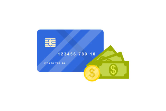 Print on Demand: Credit Card Vector Design Graphic Graphic Templates By sabavector