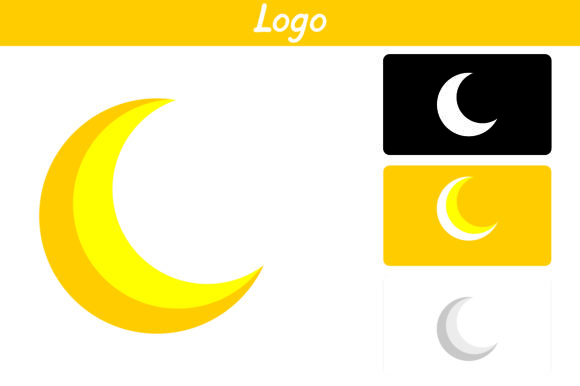 Print on Demand: Crescent Moon Graphic Icons By Arief Sapta Adjie