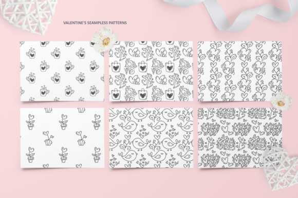 Cute Valentines Elements Graphic Illustrations By Happy Letters - Image 12