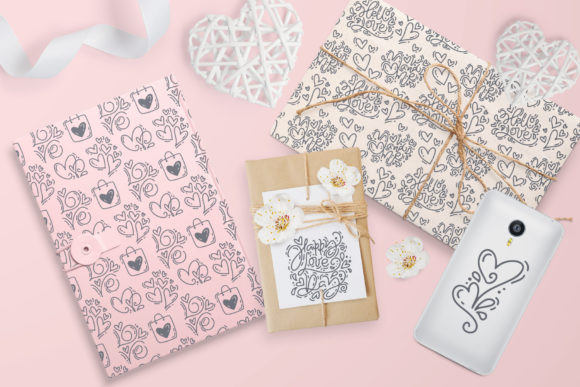 Cute Valentines Elements Graphic Illustrations By Happy Letters - Image 5
