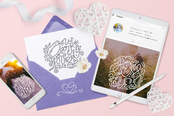 Cute Valentines Elements Graphic Illustrations By Happy Letters - Image 6