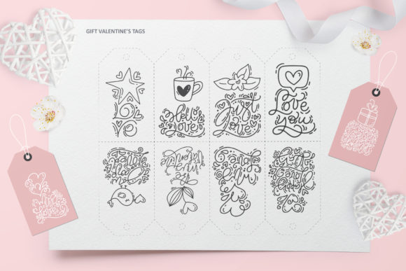 Cute Valentines Elements Graphic Illustrations By Happy Letters - Image 10