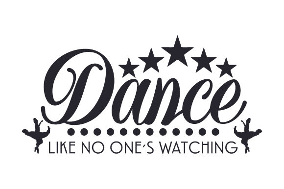 Download Free Dance Like No One S Watching Svg Cut File By Creative Fabrica Crafts Creative Fabrica for Cricut Explore, Silhouette and other cutting machines.