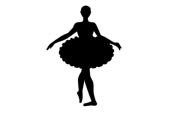 Dancing Ballerina Dance & Cheer Craft Cut File By Creative Fabrica Crafts - Image 1