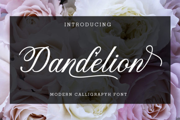 Print on Demand: Dandelion Script Script & Handwritten Font By supotype