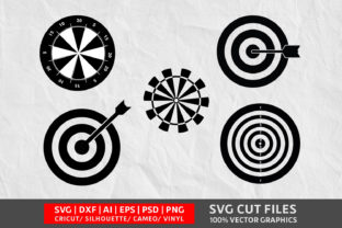 Dart Board SVG Graphic By Design Palace