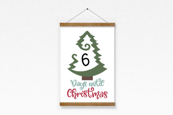 Download Free Days Until Christmas Countdown Svg Cut File Graphic By SVG Cut Files
