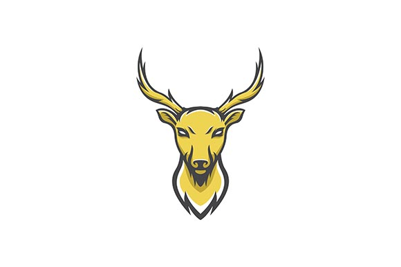 Download Free Deer Logo Graphic By Rohmar Creative Fabrica SVG Cut Files