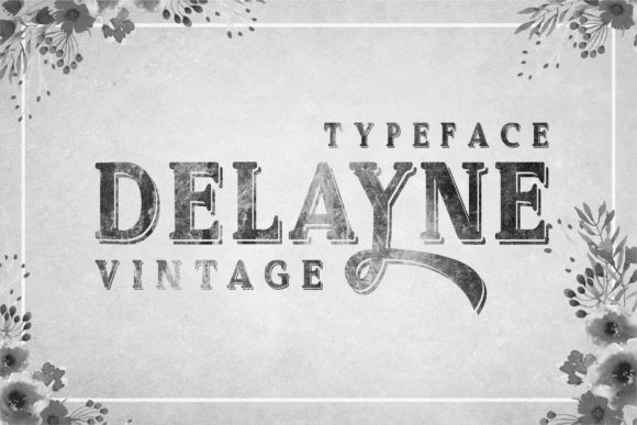 Print on Demand: Delayne Script & Handwritten Font By bywahtung