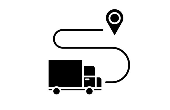 Download Free Delivery Icon Graphic By Back1design1 Creative Fabrica for Cricut Explore, Silhouette and other cutting machines.
