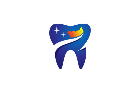 Download Free Dental Tooth Brush Vector Logo Graphic By Hartgraphic Creative for Cricut Explore, Silhouette and other cutting machines.