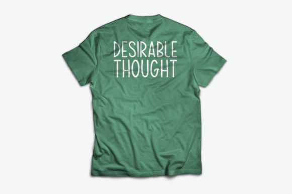 Print on Demand: Desirable Thought Script & Handwritten Font By Spanking Fonts - Image 3