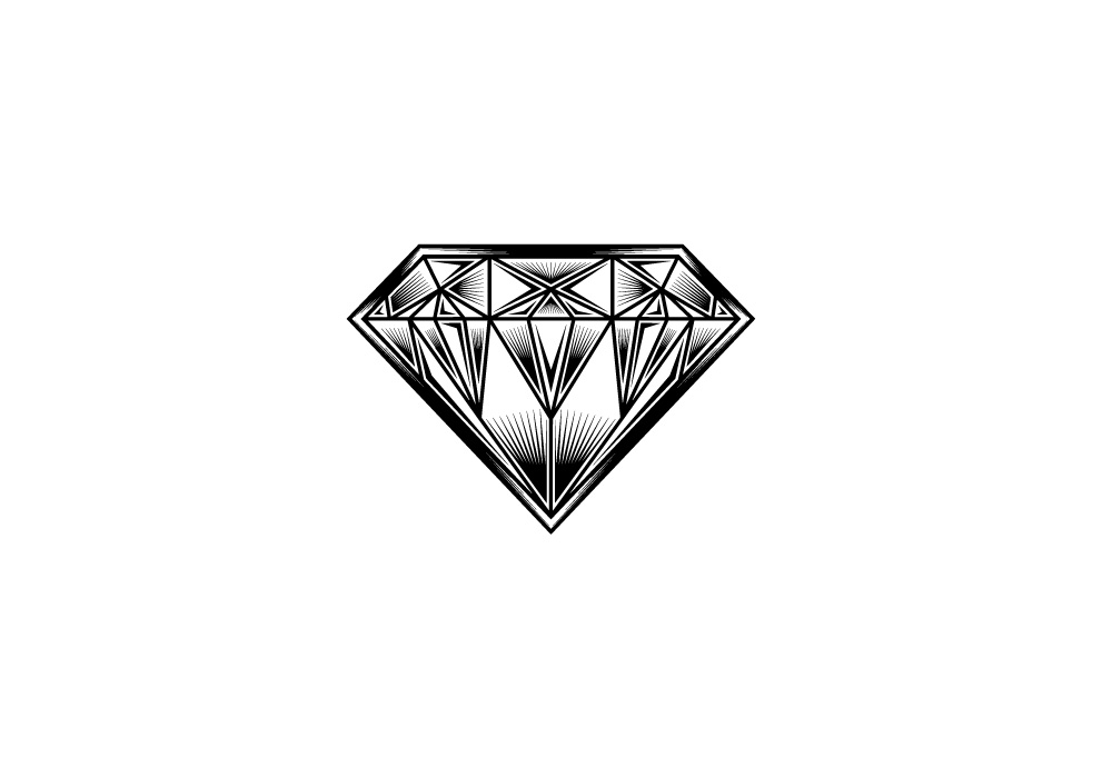 Download Free Diamond Logo Jewelry Gemstone Grafico Por Xvi Unleashed SVG Cut Files