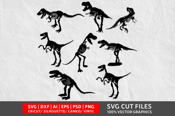 Download Free Dinosaur Graphic By Design Palace Creative Fabrica for Cricut Explore, Silhouette and other cutting machines.