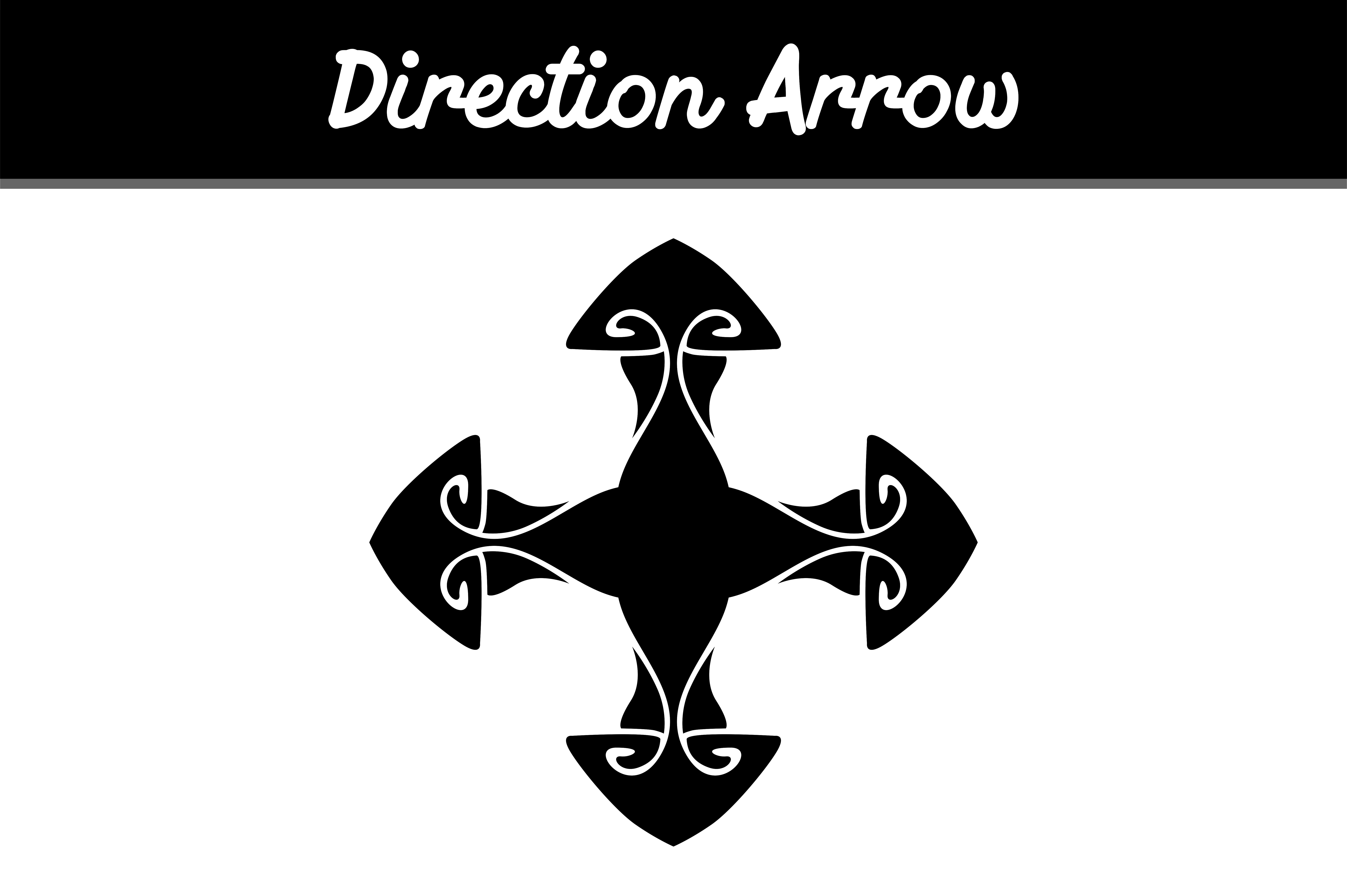 Download Free Direction Arrow Graphic By Arief Sapta Adjie Creative Fabrica for Cricut Explore, Silhouette and other cutting machines.