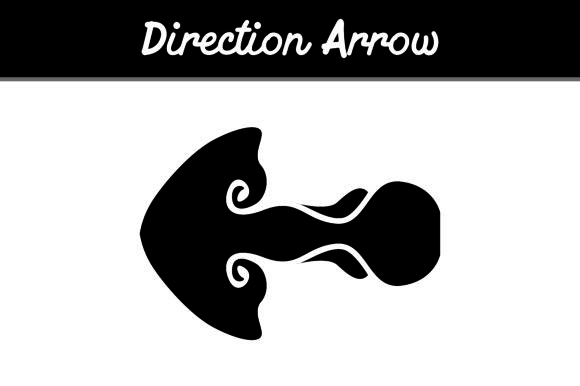 Print on Demand: Direction Arrow Graphic Icons By Arief Sapta Adjie
