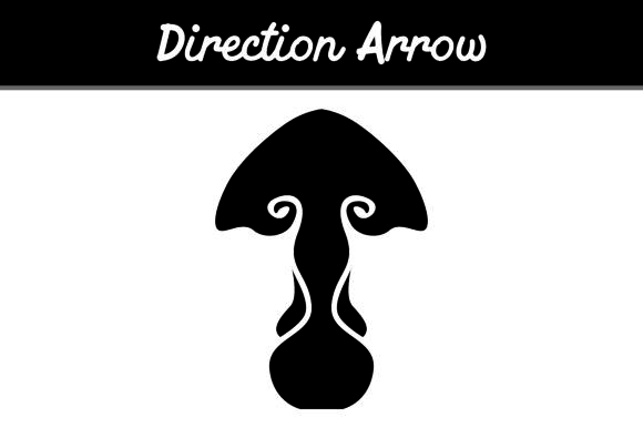 Print on Demand: Direction Arrow Graphic Icons By Arief Sapta Adjie - Image 1